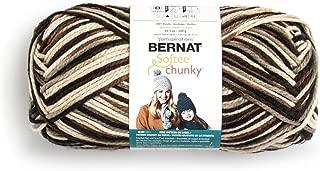 Bernat Big Ball Chunky Ombre Yarn, 10.5 oz, Gauge 6 Super Bulky, 100% Acrylic, Camouflage Ombre