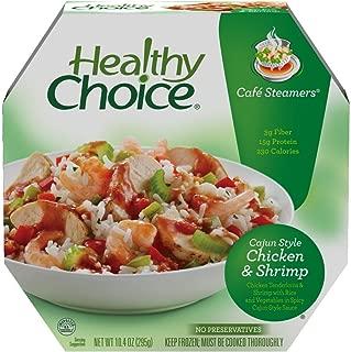 Healthy Choice Cajun Chicken Shrimp Cafe Steamers, 10 oz (Frozen)