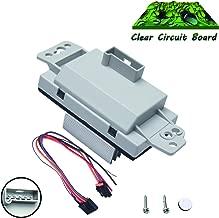 Beneges Blower Motor Resistor Kit Compatible with Chevrolet Silverado Suburban Avalanche Tahoe Trailblazer Impala Monte Carlo Regulator AC Heater Control Module 1581773, 89018778