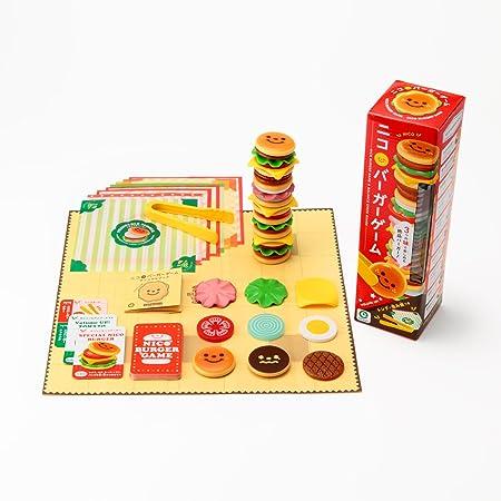 アイアップ ニコタワーシリーズ ニコバーガーゲーム 対象年齢3才から