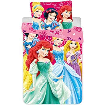 Ropa de cama infantil de Disney, a elegir: princesa o Frozen. Funda de almohada, 40 x