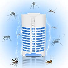 Outdoor Mosquito Killer Lamp, Light Control LED Lamp Ultraviolet Mosquito Killer Lamp Can Kill Insects In Mosquitoes Bedro...