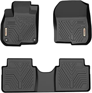 YITAMOTOR Floor Mats for Honda CR-V, Custom Fit Floor Liners for 2017-2019 Honda CRV, 1st & 2nd Row All Weather Protection