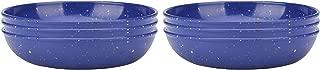 Zak Designs 2323-4230-ISET Confetti Pasta Bowls, Set, Blue PB