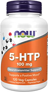 Now Foods, 5-HTP, 100 mg, 120 Veg Capsules
