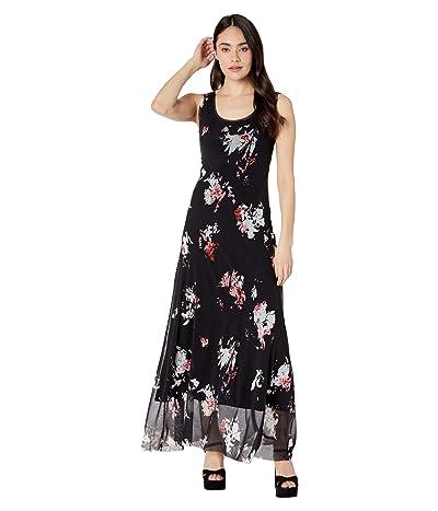 FUZZI Long Tank Dress (Black) Women