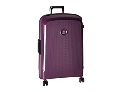 Delsey 26 Belfort DLX Spinner Upright (Purple) Luggage