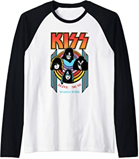 KISS - Alive Worldwide Manche Raglan
