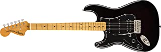 Squier by Fender Classic Vibe 70's Stratocaster Left Hand Electric Guitar - HSS - Maple - Black