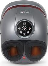 CINCOM Foot Massager with Heat & Air Compression for Foot Deep Shiatsu Kneading..