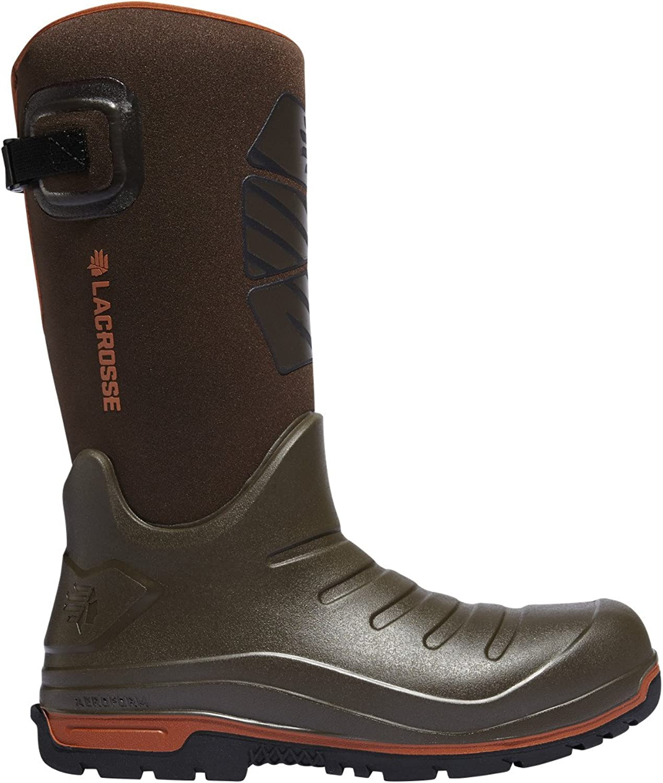 LACROSSE Aero Insulator 14  Height Brown (664552)  Waterproof   Insulated Modern Comfortable Hunting Combat Boot