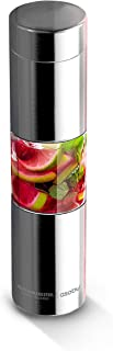 Asobu Flavor U See a Stainless Steel Fruit Infuser Slim and Classy Water Bottle (Silver)