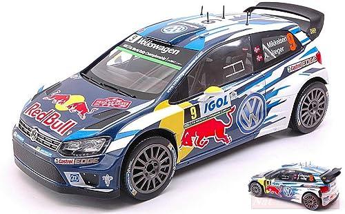 Ixo Model 18RMC018C VW Polo R WRC N.9 Tour DE Corse 2016 Mikkelsen-Jaeger 1 18 kompatibel mit