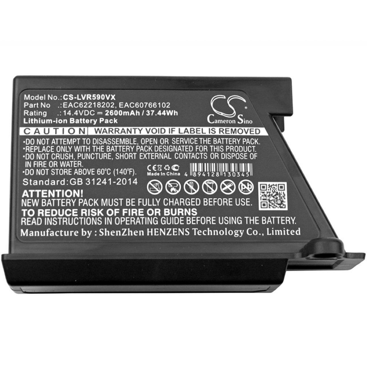 Batería para Robot-Aspirador LG Modelo EAC60766102: Amazon.es ...