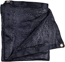 e.share 40% Black Shade Cloth Taped Edge with Grommets 10 ft X 20 ft
