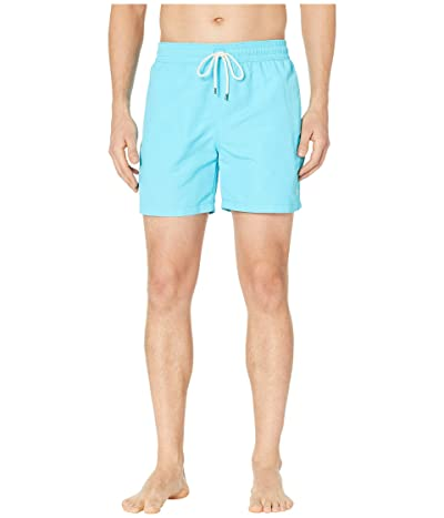 Polo Ralph Lauren Nylon Traveler Swim Shorts (Liquid Blue) Men