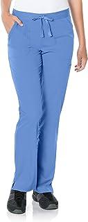 """Landau womens Flare Leg Drawstring Scrub Pant""""Taylor"""" Medical Scrubs Pants (pack of 1)"""