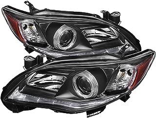 Spyder Auto (PRO-YD-TC11-DRL-BK) Toyota Corolla Black DRL LED Projector Headlight