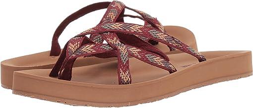 Brown/Tan Multi Fabric