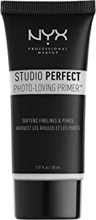 NYX PROFESSIONAL MAKEUP Studio Perfect Primer, Clear, 1.0 oz/30ml