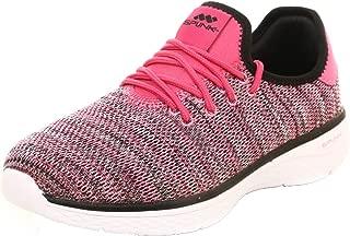 Spunk Knitted Mock Lace-up Walking Shoe
