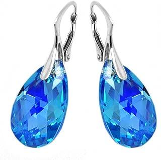 Best swarovski elements crystal leverback earrings Reviews