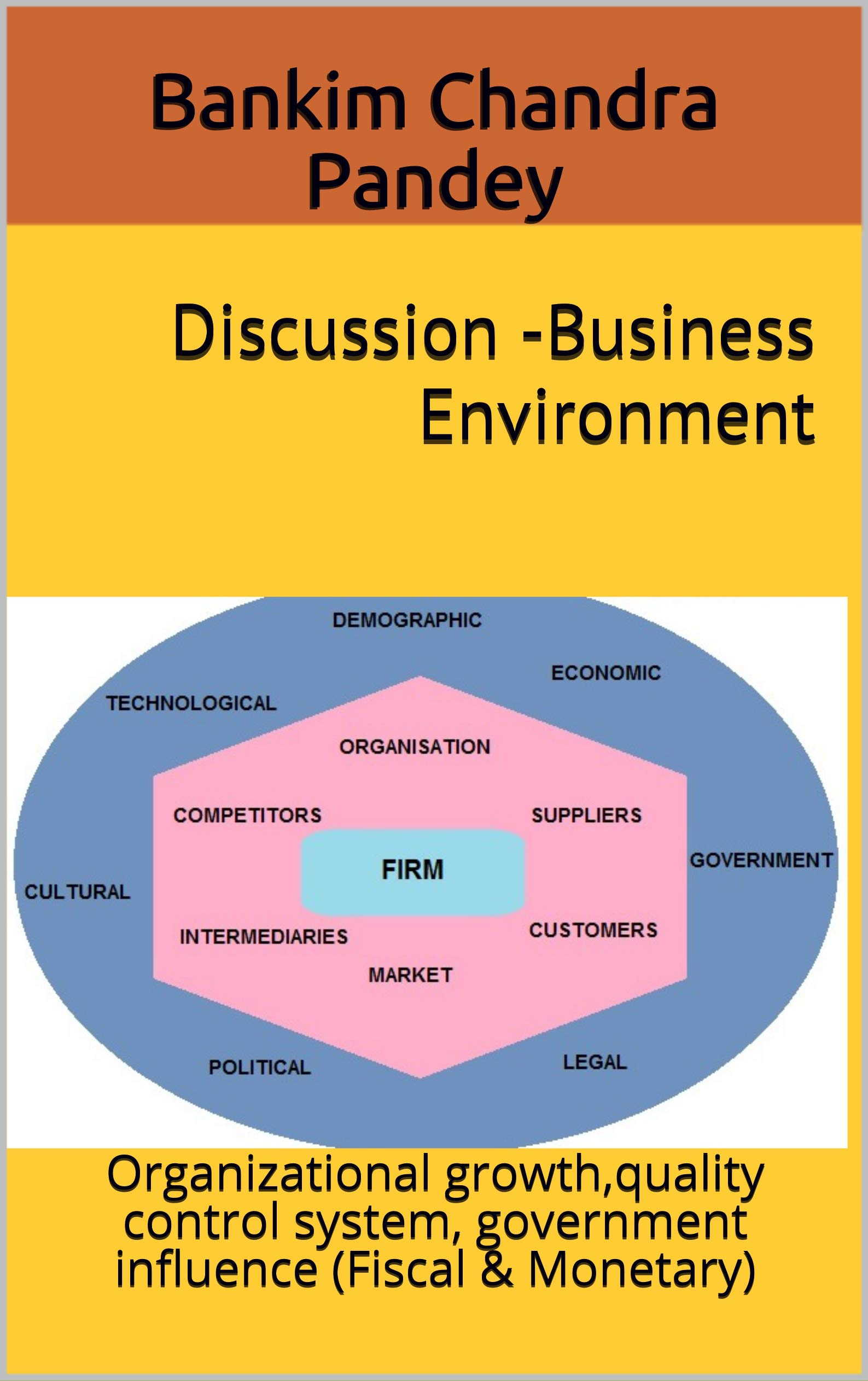 Discussion -Business Environment : Organizational growth,quality control system, government influence (Fiscal & Monetary)