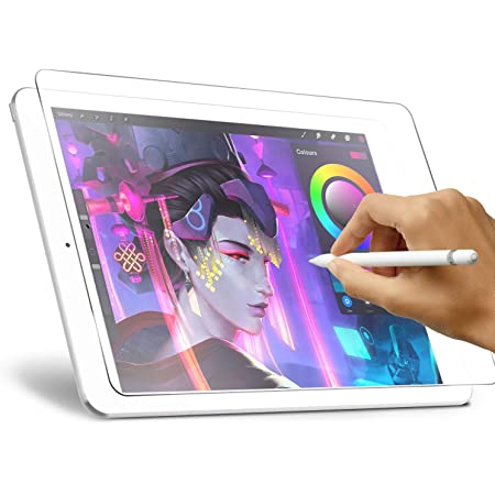 Like Paper Screen Protector for iPad Air 3 (2019) 10.5 inch, iPad Pro 10.5 (2017), XIRON High Touch Sensitivity No Glare Scratch for iPad 10.5 Matte Screen Protector Compatible with Apple Pencil