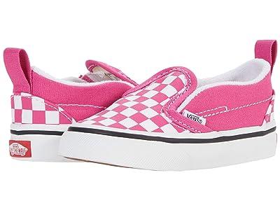 Vans Kids Slip-On V (Infant/Toddler) ( Girls Shoes