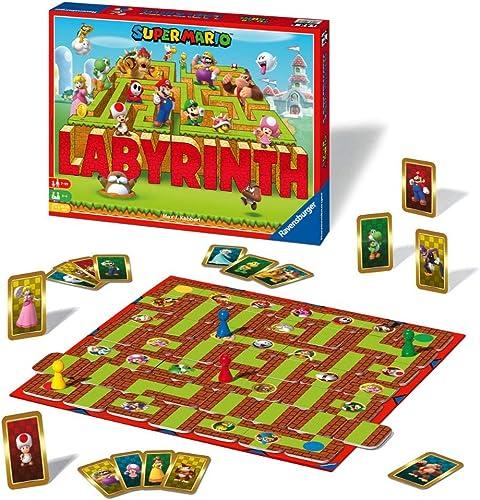 Ravensburger- Labyrinthe Super Mario- Jeu de société Enfant et Famille - Dès 7 Ans - 26063, Mixte