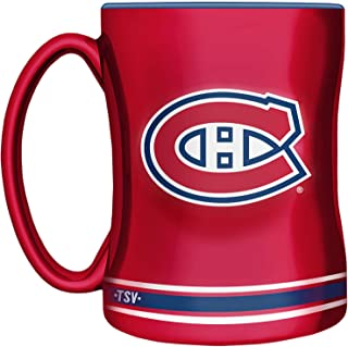 NHL Montreal Canadiens Sculpted Mug, 14-Ounce