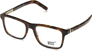 Eyeglasses Mont Blanc MB 0737 052 Dark Havana Clear Lens