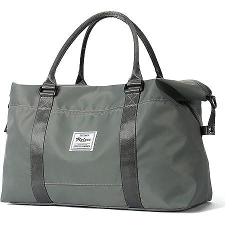 Sac de voyage, sac de sport, sac de sport, sac de week-end pour femme avec poche humide, sac à roulettes, vert