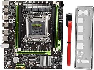 ASHATA Placa Base de computadora, LGA 2011 X79G Soporte de Placa Base de computadora de Escritorio Memoria DDR3 REG ECC, Placa Base de computadora de Escritorio PC Una Toma de Corriente de 4 Pines