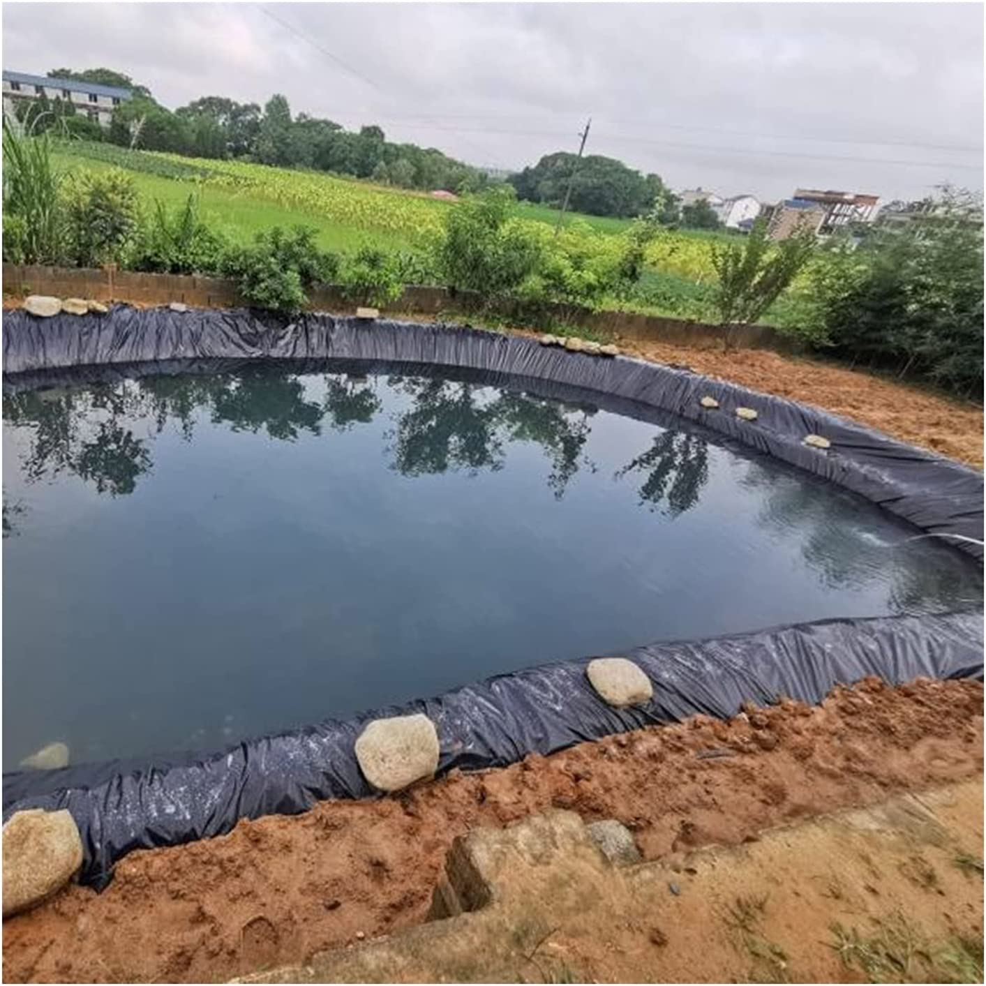 RT-OSXE Flexible Waterproof Pond Liners HDPE Poool Underlay All stores are sold Fo SEAL limited product
