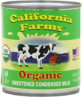 California Farm Condensed Milk green, 14-Ounce Can (Pack of 6)