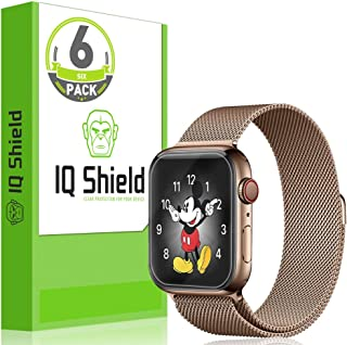IQ Shield Screen Protector Compatible with Apple Watch Series 4 (40mm)(6-Pack)(Easy Install) Anti-Bubble Clear Film