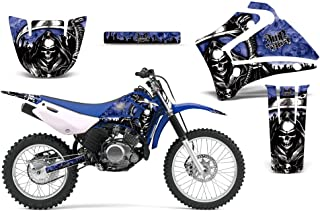 2000-2007 Yamaha TTR 125 AMRRACING ATV Graphics Decal Kit-Reaper-Blue