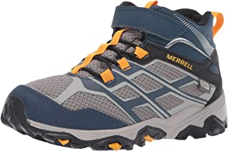 Merrell Kids' Moab FST Mid a/C WTRPF Hiking Boot