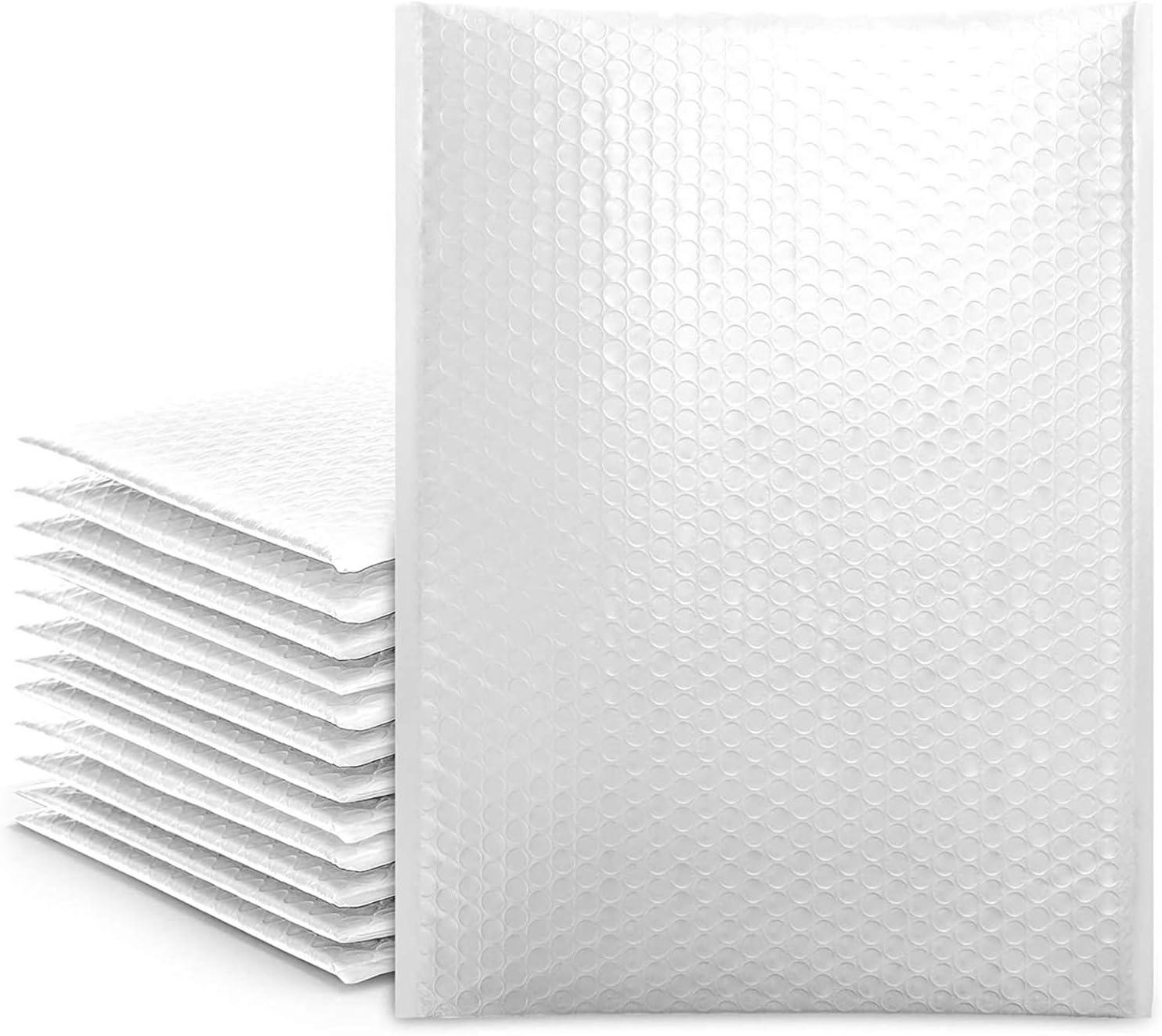 cozymood 25 Popular Super intense SALE brand Pcs White Poly Mailers Bubble 10.5x16