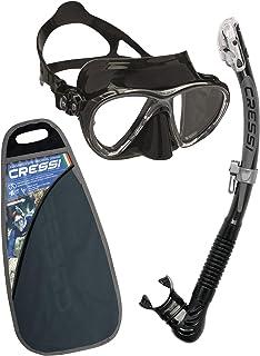 Cressi C/Set Big Eyes Evolution+Alpha/Ud Snorkeling/Diving Combo
