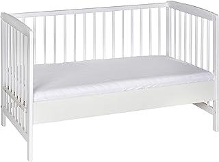 Schardt 03 065 19 02 Beistellbett, weiß, ohne Matratze, ohne Textil