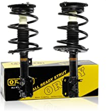 OREDY Front Left & Right Driver & Passenger Side Complete Struts Shocks Coil Springs Assembly Kit 11335 11336 Compatible with Nissan Maxima FWD 2009 2010 2011 2012 2013 2014