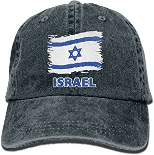Baseball Jeans Cap Israel Flag Men Women Snapback Casquettes Adjustable Dad Hat