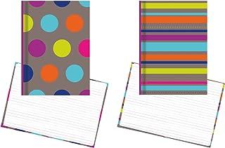 Notizbuch, Set, Dots & Stripes – 2 Notizbücher, 21,6 x x x 14,6 cm linierte Seiten Stationery B01ES0X7S4  Bestätigungsfeedback 3b4ecc
