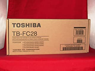 NEW Toshiba OEM TBFC28 TONER BAG For ESTUDIO2830C (Toner Disposal Collect Units)
