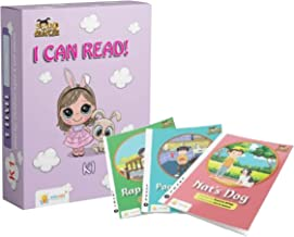 Sparklebox I Can Read Series | Grade K1 | 3+ years | 14 Decodable books Alphabet Learning Kit , Early Child Education Kit...