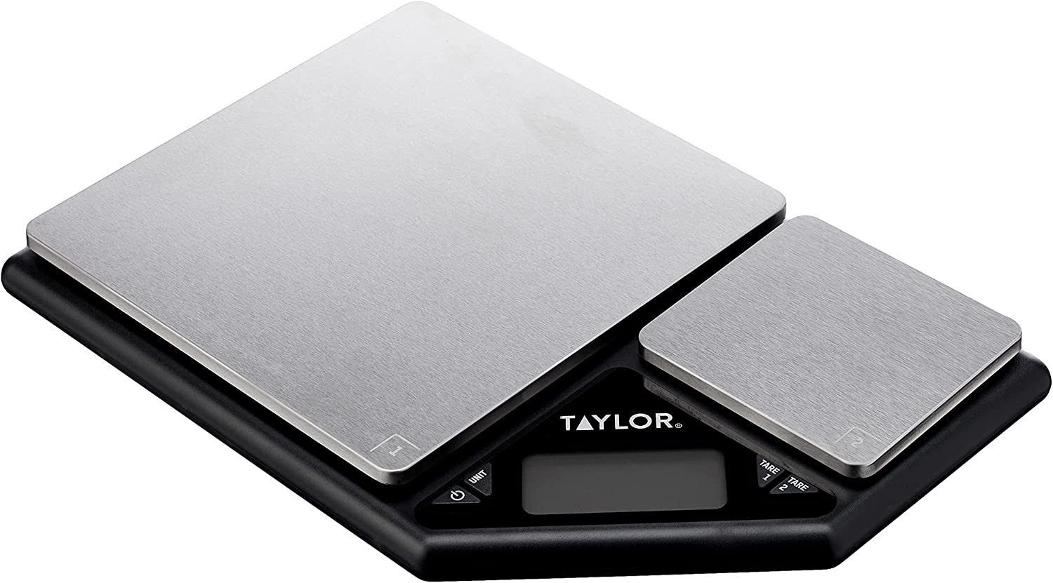 Taylor Pro Digital Kitchen Food Scales with Dual Platform Weighi
