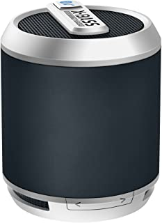 Divoom Bluetune Solo Portable Speakers (X-BASS, Bluetooth, Slate)
