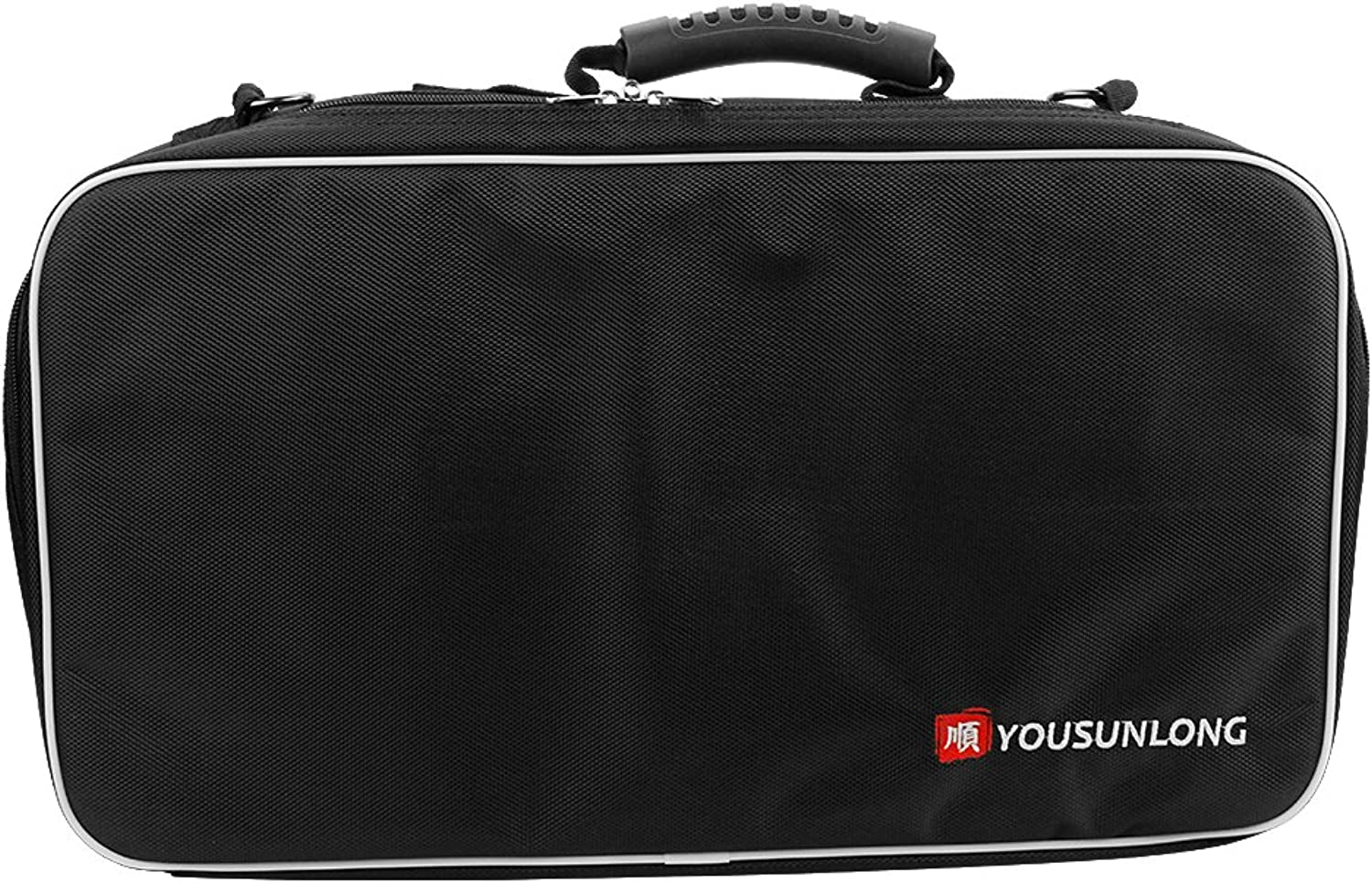 YOUSUNLONG Knife Bag for Chefs Premium Culinary Knife Bag Knives Predector w 21 Pockets & 3 Zipper Compartments